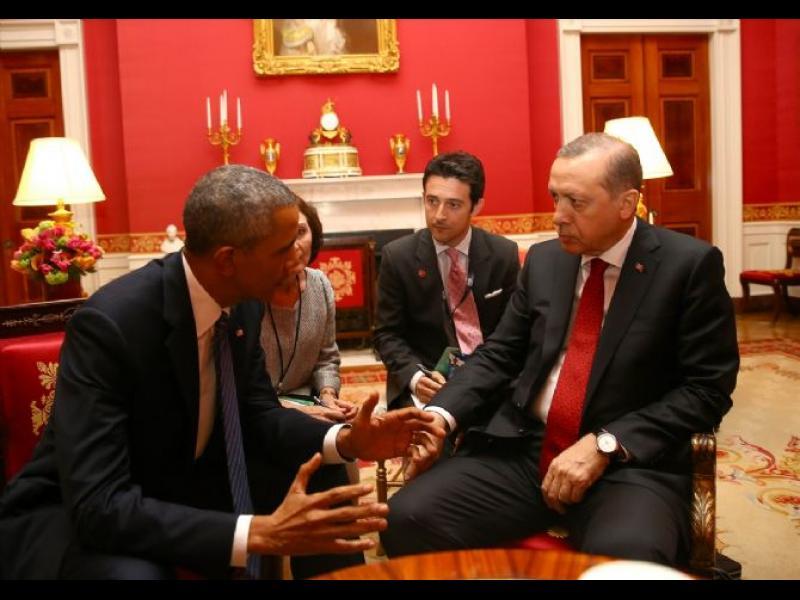 Ердоган се обиди на Обама
