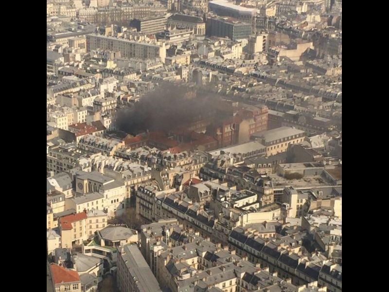 /ВИДЕО/ Петима ранени при взрив от изтичане на газ в Париж - картинка 1