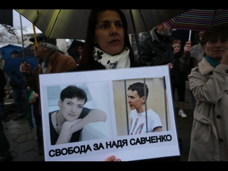 Путин и Порошенко за съдбата на Савченко - картинка 1