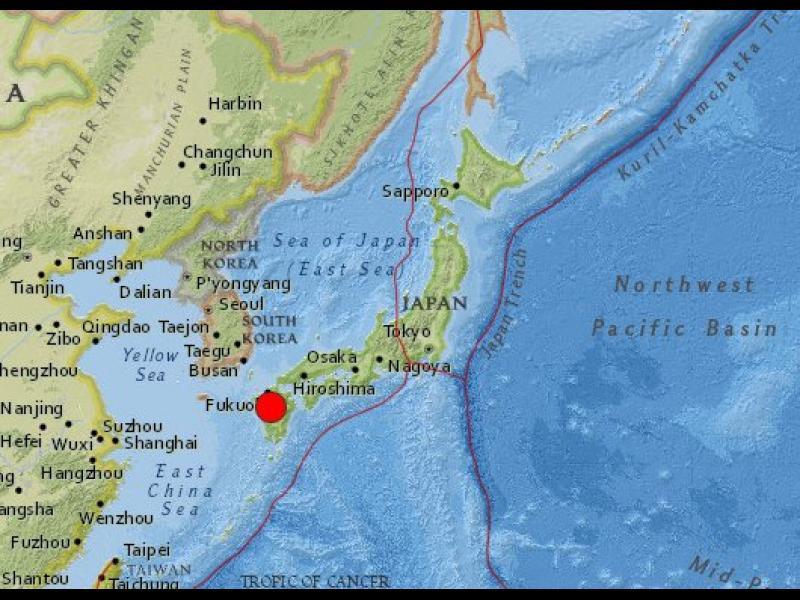 Поредица силни земетресения предизвикаха разрушения и паника в Япония - картинка 4