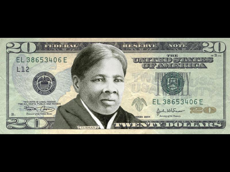 Чернокожа жена на новата 20-долара банкота - картинка 1