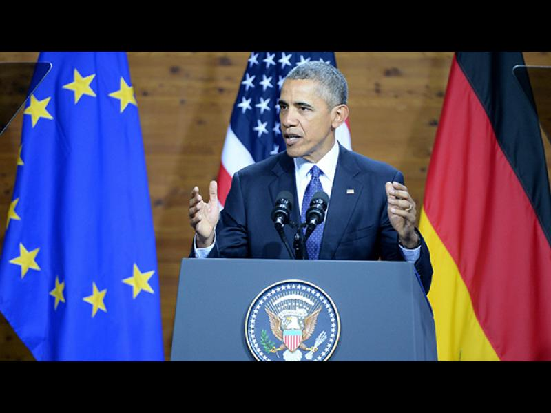 """Обама: """"Една силна и обединена Европа е необходимост за света"""" - картинка 1"""