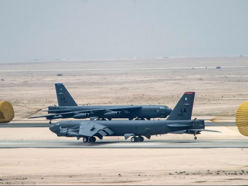 САЩ разполага нови бомбардировачи в Близкия Изток - картинка 1