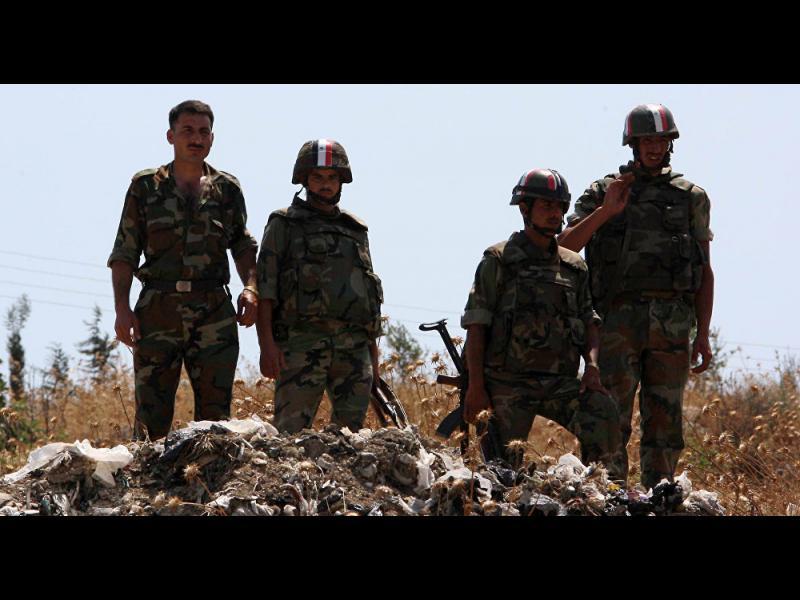 Сирийската армия откри масов гроб край Палмира