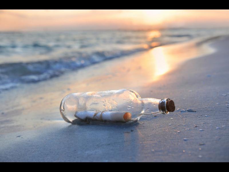 /СНИМКИ/ Най-старото в света послание в бутилка изплува - картинка 1
