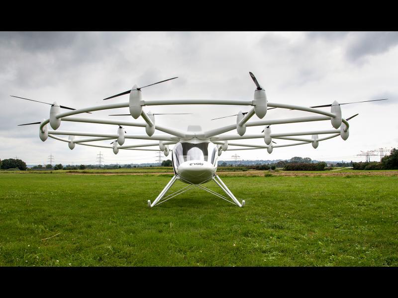 /ВИДЕО/ Нов дрон може да носи пътници - картинка 1