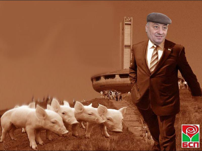 Коалиционната политика на БСП - стига свинщини! - картинка 1