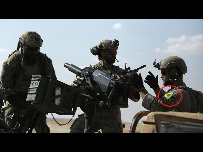 Ердоган бесен на американските военни - снимали се с кюрдски отличителни знаци на униформите - картинка 1