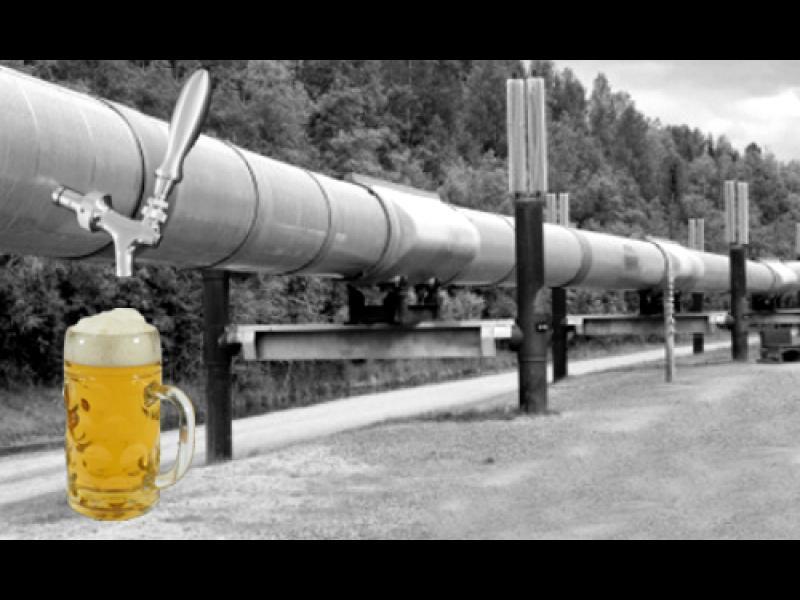 Стягайте багажа за Белгия - създават тръбопровод за бира! - картинка 1