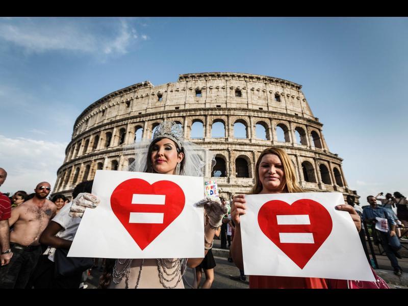ДА на гей браковете в Италия! - картинка 1