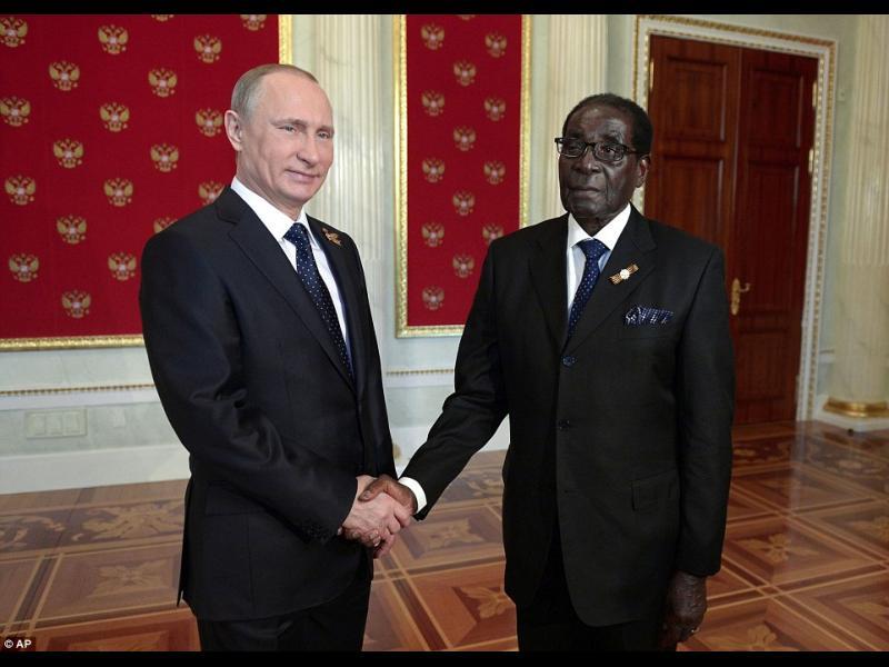Свят, трепери! Русия и Зимбабве обединяват сили - картинка 1