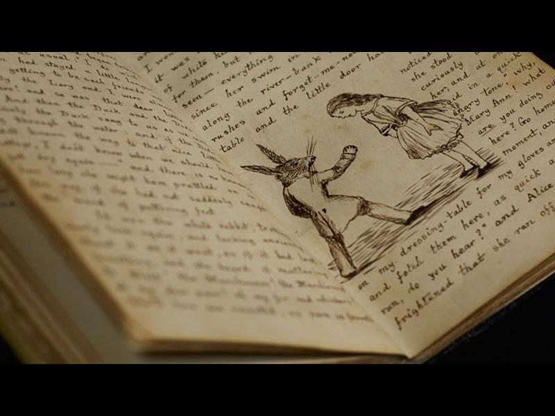 """Първото издание на """"Алиса в страната на чудесата"""" на търг - картинка 1"""