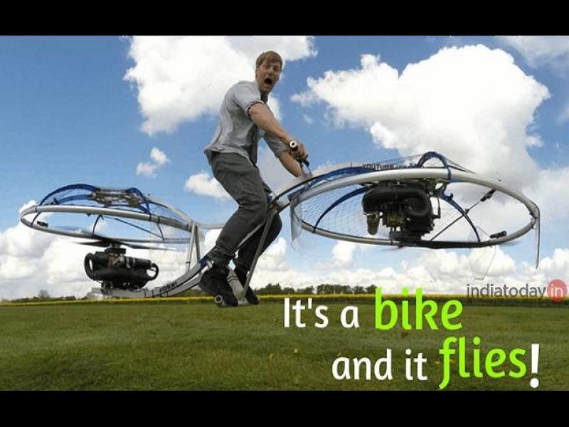 /ВИДЕО+СНИМКИ/ Вече летим и с велосипеди! - картинка 1