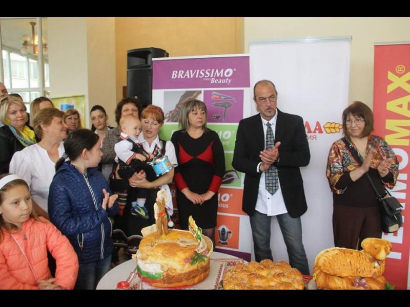 Италиански шеф готвач оцени питките на Фестивала на брашното - картинка 2
