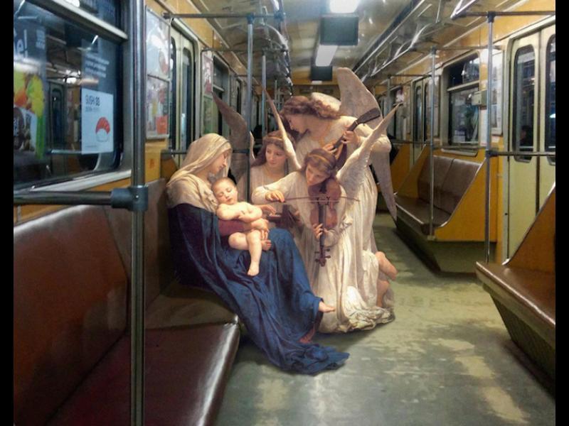 /СНИМКИ/ Ежедневието на боговете в модерния свят - картинка 1