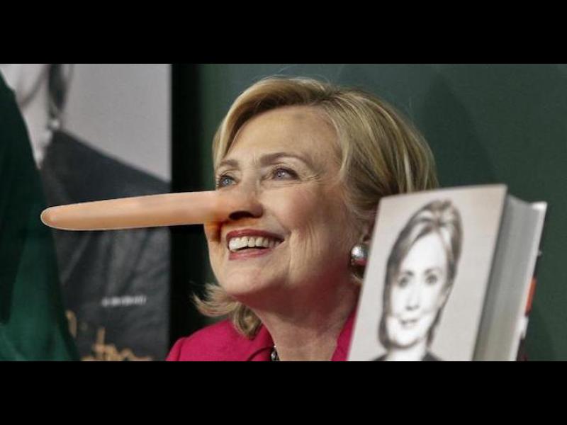 /ВИДЕО/ Лъжите на Хилъри Клинтън събрани в 13 минути - картинка 1