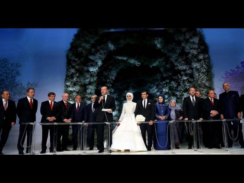 Сватба от приказките за дъщерята на Ердоган - картинка 1
