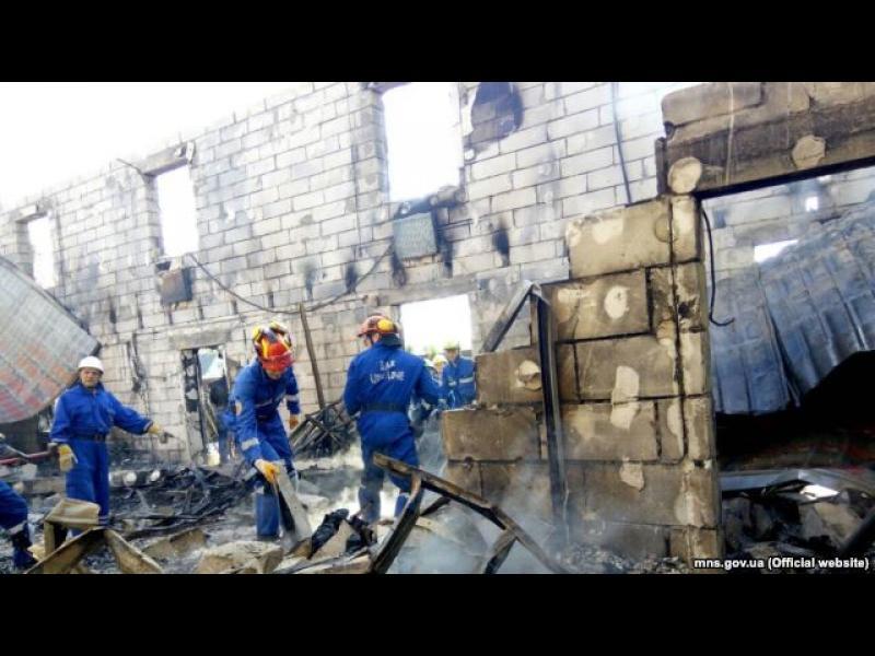 Седемнайсет души загинаха при пожар край Киев - картинка 1