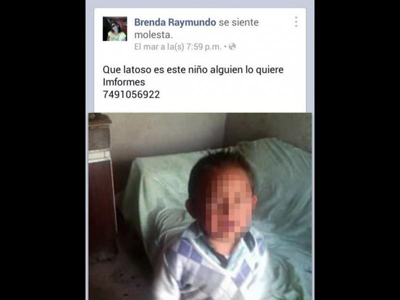 Майка продава детето си във Фейсбук - картинка 1