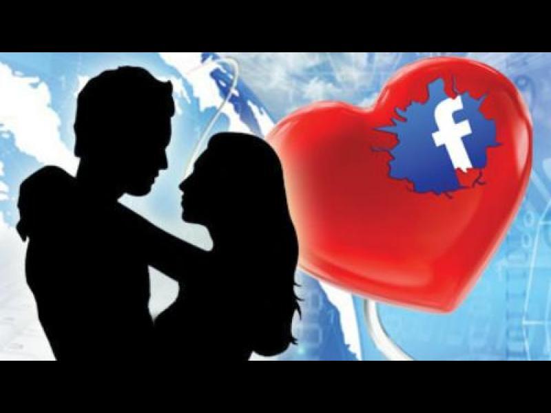 Фейсбук е място за любов и изневери