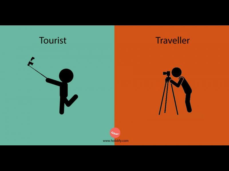 Турист и пътешественик - две коренно различни неща - картинка 1