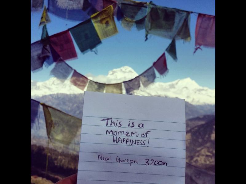 Любовта към пътуването, описана на лист хартия