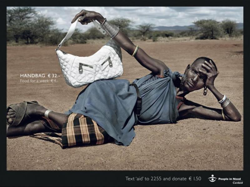 Дилемата: нова чанта или храна за нуждаещите се? - картинка 1