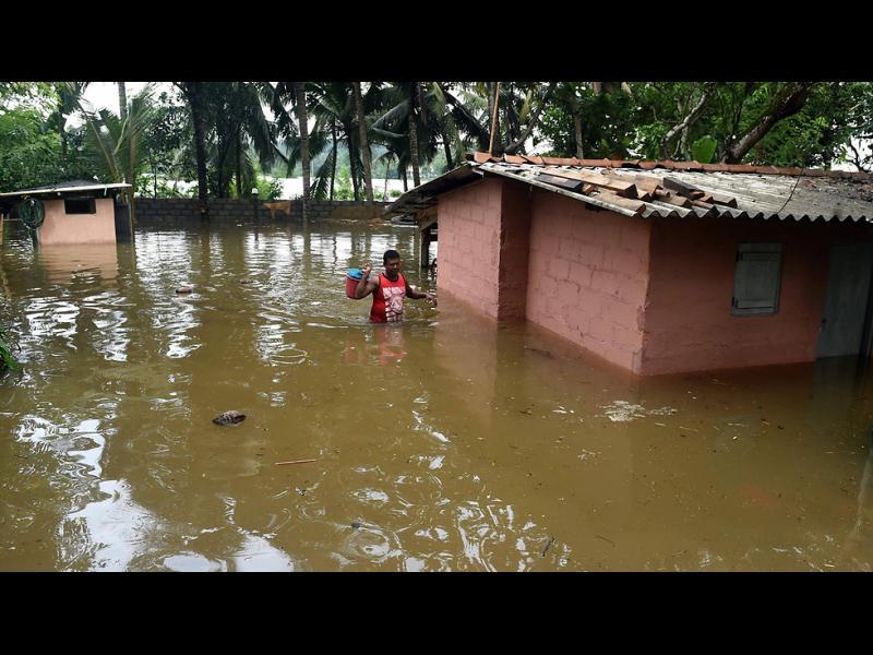 Голямо свлачище в Шри Ланка - картинка 1