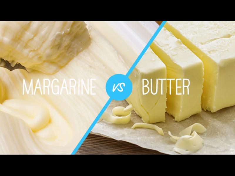 Вечният въпрос - маргарин или масло?