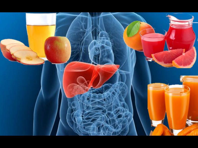 5 напитки, които чистят черния дроб