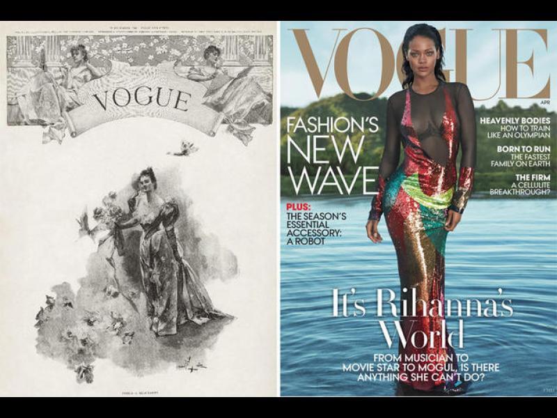 Преди и сега - кориците на известни списания - картинка 1