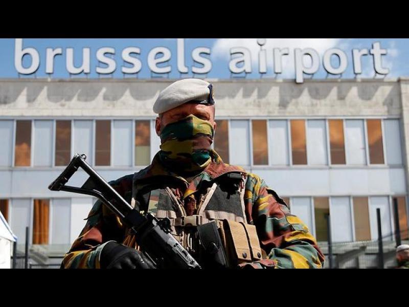 Драконови мерки за сигурност и много изпуснати полети в Брюксел - картинка 1