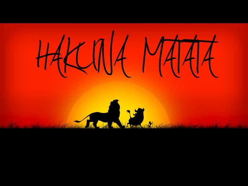 """""""Хакуна матата"""" или как да не ти пука"""