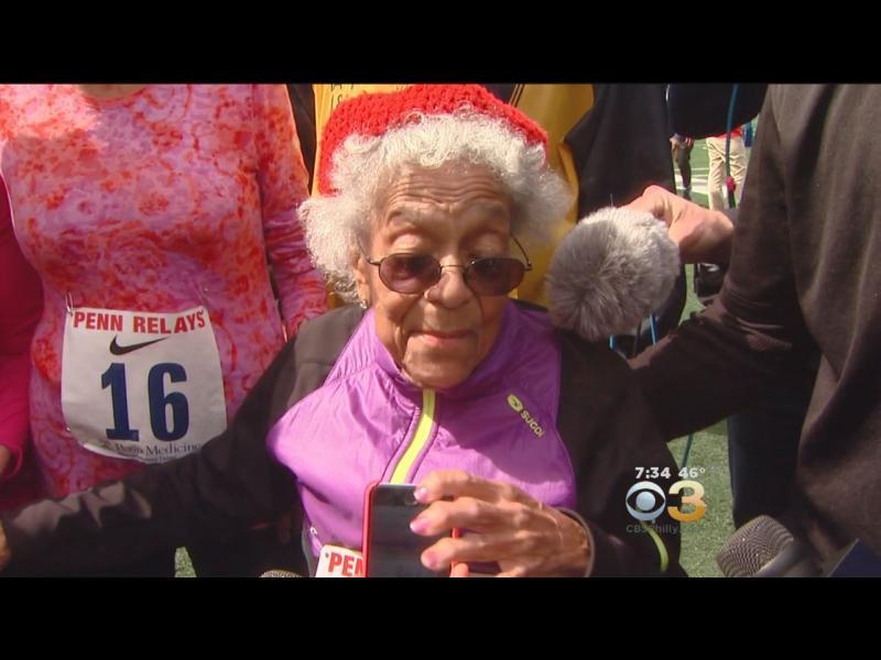 /СНИМКИ/ 100-годишна американка със световен рекорд по бягане - картинка 1