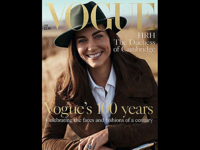 Кейт Мидълтън за пръв път позира за корица - картинка 1
