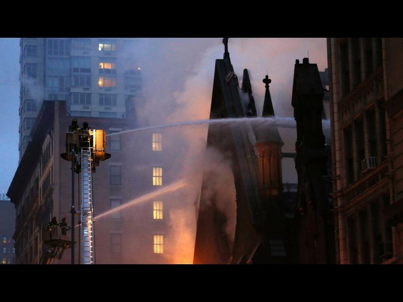 Пожар унищожи историческа сръбска църква в Ню Йорк - картинка 1