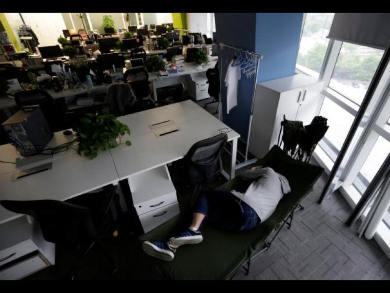 Нов метод за повишаване продуктивността на китайските работници - картинка 1