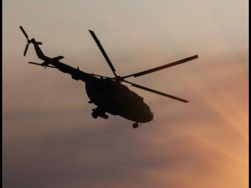 ОБНОВЕНА! Хеликоптер падна край Несебър, пилота вероятно е загинал - картинка 1