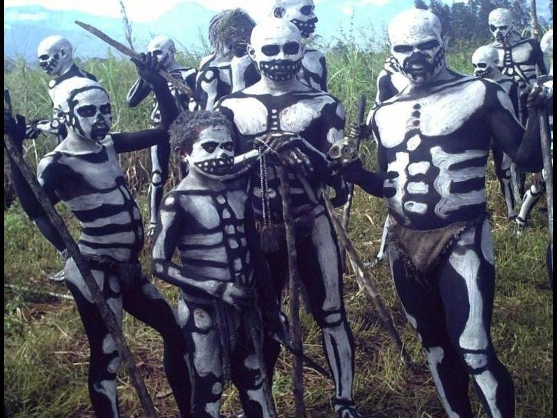 Племе от Нова Гвинея живее в паралелни светове