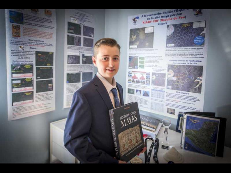 15-годишен откри забравен град на маите - картинка 1