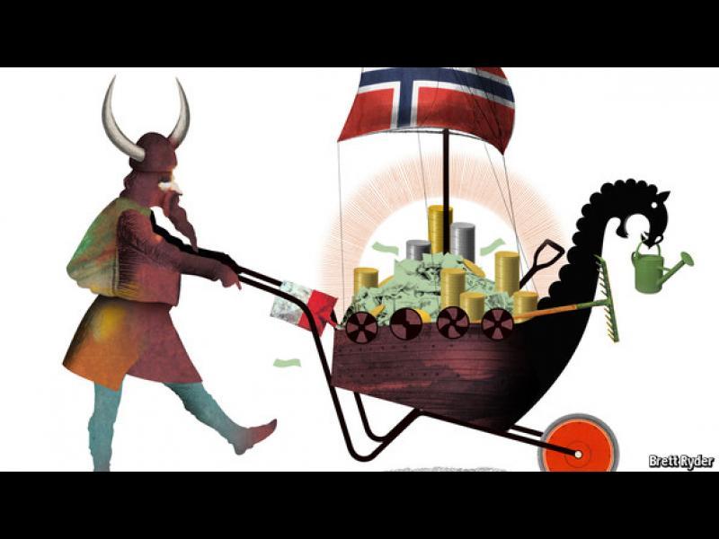Норвегия разпечата най-големия фонд в света - картинка 1