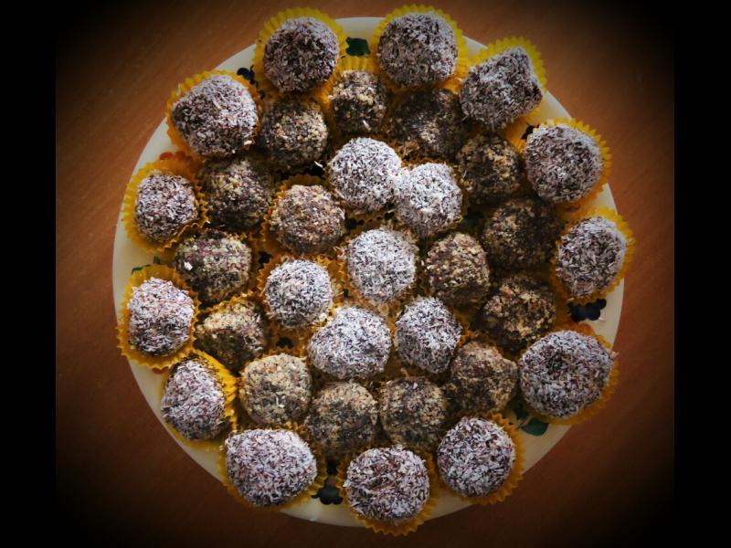Домашна кухня: Шоколадови топчета
