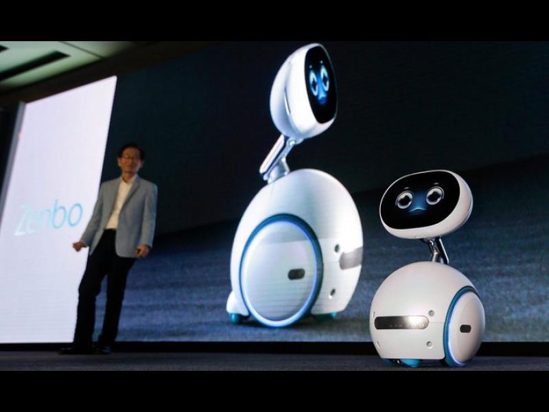 Zenbo - домашният робот на Asus, който всеки може да си позволи
