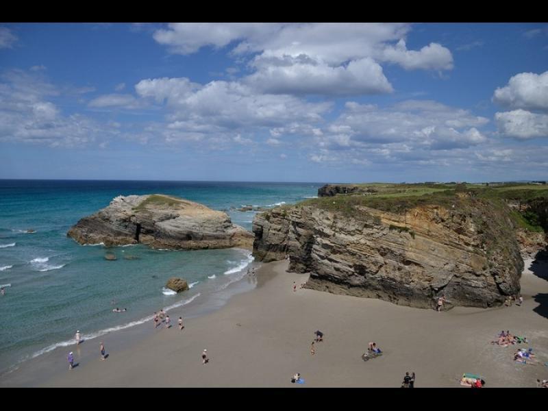 /СНИМКИ/ Най-приключенският плаж в Испания
