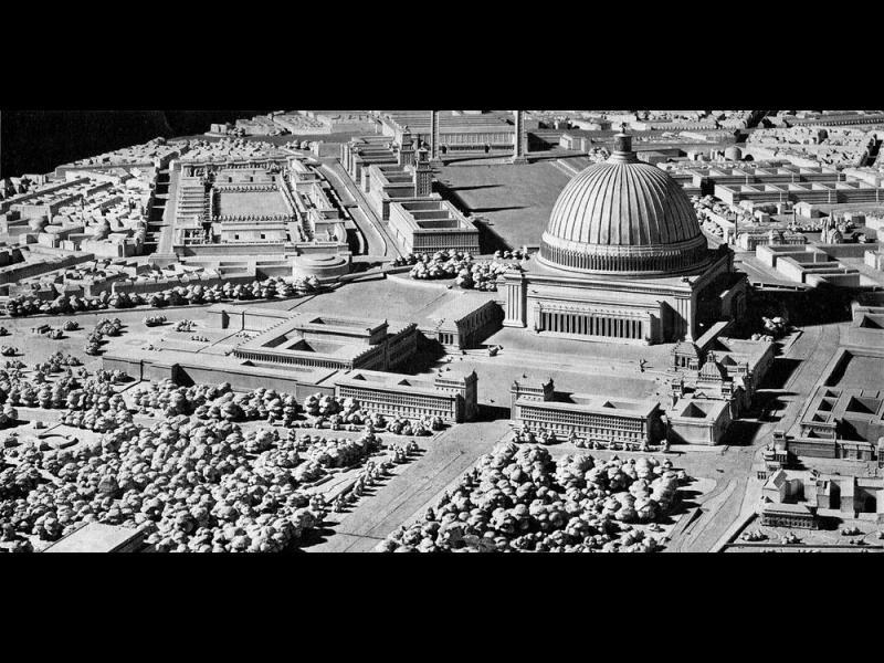 Грандиозните планове на Хитлер за Берлин