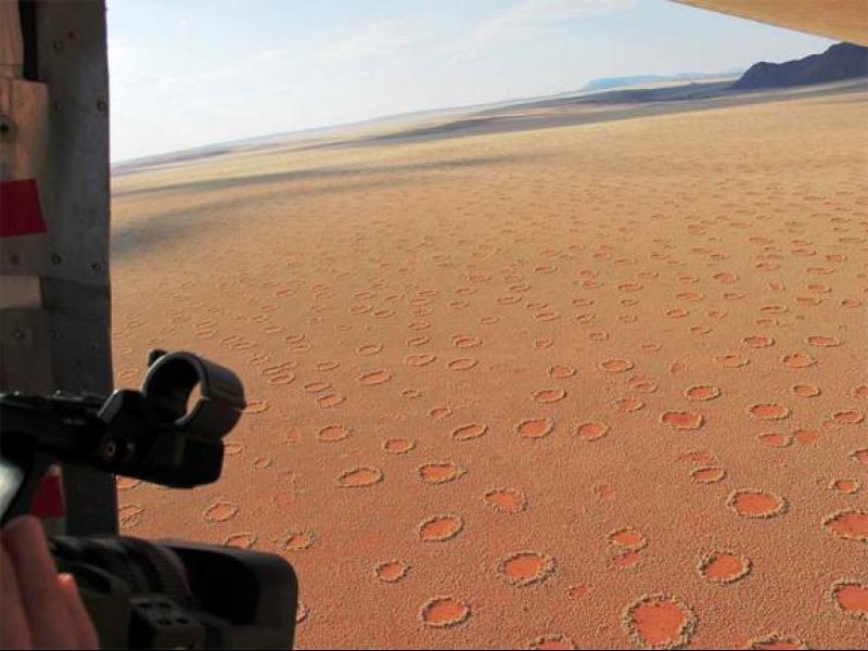 Вълшебните кръгове на Намибия