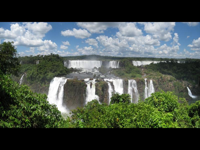 Чудесата на нашия свят: Водападите Игуасу