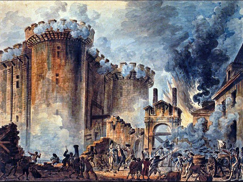 14 юли и превземането на Бастилията