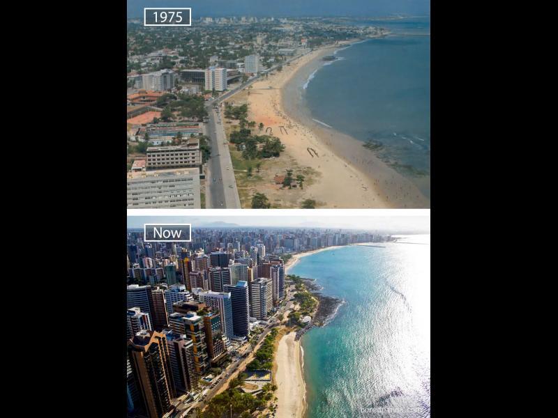 /СНИМКИ/ Как са се променили най-известните градове в света?