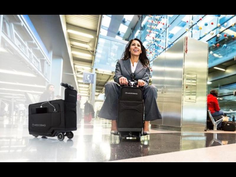 /ВИДЕО/ Modobag - багаж, с който да се повозиш, докато чакаш